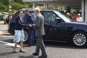 The Princess Royal opens new MRI Suite at the Conquest