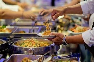 Thai buffet (stock image)