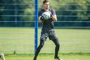 Pompey are still seeking takers for out-of-favour Luke McGee. Picture: Habibur Rahman