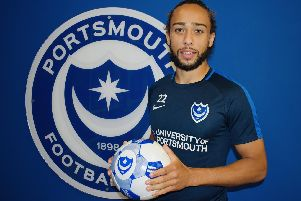 New boy Marcus Harness. Picture: Portsmouth FC