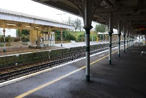 LG 160115 Arundel Railway Station and the railway line - calls for an Arundel Chord (new railway link for London) made by councillors