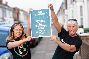 Lizzi Kenyon, left, and Debs Stone, founders of Idols Promotions are putting on their first ever concert on July 27 at The Loft in Albert Road, Southsea. Picture: Sarah Standing.