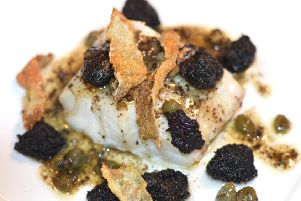 Cod and Black Pudding