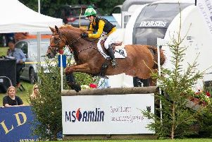 Nicky Hill, winner of today's MS Amlin Eventers' Challenge (c) Emily Gailey