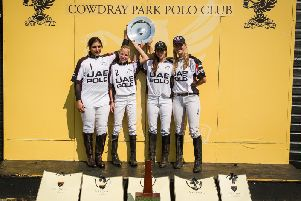 The ladies' open winners / Picture by Mark Beaumont