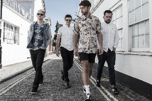 Neverman play at The Wedgewood Rooms, Southsea on August 9, 2019