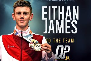 Eithan James is turning pro