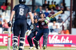 Josh Cobb made 84 for the Steelbacks (pictures: Kirsty Edmonds)