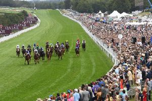 The Stewards' Sprint gets Saturday's racing under way / Picture: Getty Images