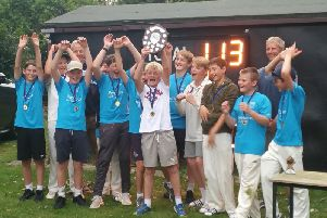 The Chichester Priory Park champs!