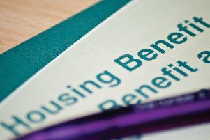 Only seven properties in Portsmouth were found to be within the government's set limits for local housing allowance (LHA)