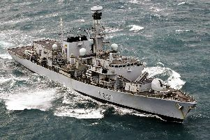 Pictured is HMS Westminster. Photo: LPhot Louise George