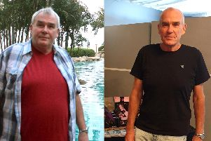 Keith Dean lost eight stone through Slimming World and is now starting his own group to help others