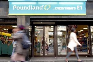 Poundland to start selling products for under 1. Picture: Danny Lawson/PA Wire