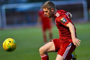 Captain Darren Budd scored and bagged an assist in Worthing's win against Lewes. Picture by Stephen Goodger