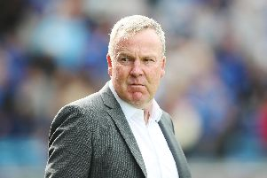 Portsmouth's Manager Kenny Jackett. Picture: Joe Pepler