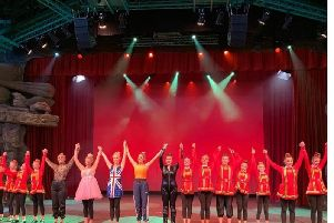 Youngsters from The Whiteman Dance Academy in Kenilworth perform at Disneyland Paris.