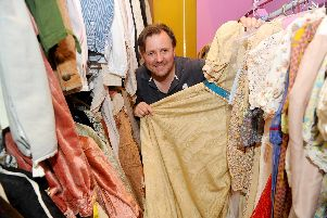 With a wardrobe featuring over 11,500 costumes and props, Groundlings Theatre have built up a collection that makes many companies envious and this August they will be allowing the public the chance to purchase items no longer of use. Picture: Sarah Standing
