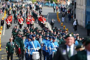Press Eye - Belfast - Northern Ireland - 17th August 2019''The parade makes its way through Lisburn.  'Picture by Jonathan Porter/PressEye