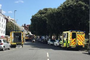Southsea Terrace. Picture: Portsmouth Police/Twitter