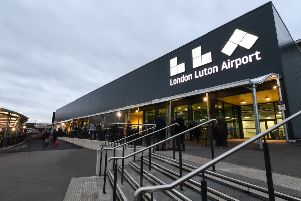 London Luton Airport Terminal exterior. Photo by London Luton