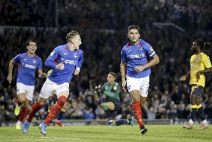 Gareth Evans was on the scoresheet last night. Photo by Robin Jones.