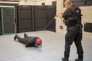 Northamptonshire's front line police officers will be trained and equipped with tasers.