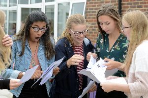 It is GCSE results day. Picture: Kate Shemilt