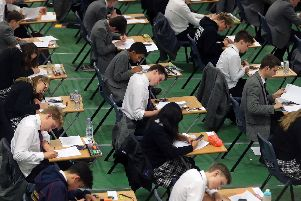 it is GCSE results day. Picture: Gareth Fuller/PA Wire