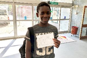 Pupil Tanaka Musarurwa plans to 'prank' his mum with his results.