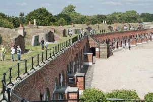 Fort Brockhurst is one of the popular locations involved in Gosport Heritage Open Days
