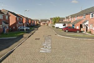 The assault happened on Malthouse Close, Northampton, in December last year. Photo: Google