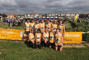 Team Rudy, pictured at last year's Chestnut Tree House Littlehampton 10k, return for 2019 with a team of 27 runners