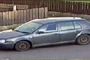 Police want to hear from anyone who saw this grey Volkswagen Golf S in the Greenhill Park area of Lurgan on August 19.