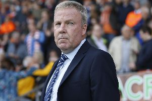 Pompey manager Kenny Jackett could bring in a midfielder before the transfer window closes. Picture: Paul Thompson/ProSportsImages