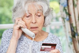 Three elderly residents in east Hampshire have been scammed out of thousands of pounds each. Picture: Shutterstock