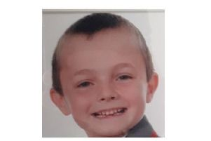 Eight-year-old Thomas went missing this morning from Copnor.''