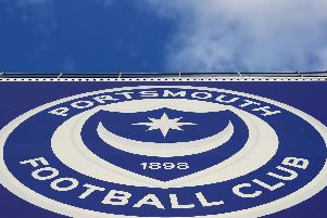 Fratton Park, the home of Portsmouth