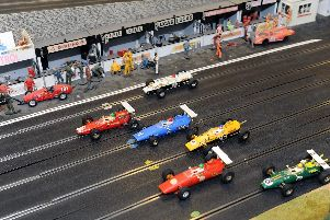 A Scalextric fun day will be held in Havant this month. Picture: Sarah Standing (160925-5268)