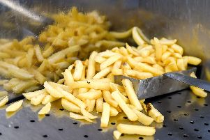 Stock image of french fries. (Photo credit should read PHILIPPE HUGUEN/AFP/Getty Images)