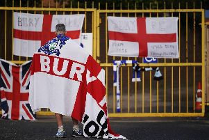 Bury FC were kicked out of the EFL last week. (Photo by Christopher Furlong/Getty Images)