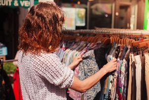 Zella loves charity shops. Picture: Shutterstock