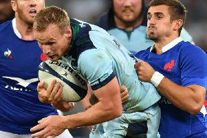 Rory Hutchinson has not made Scotland's World Cup squad