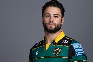 Henry Taylor has joined Saints from Saracens