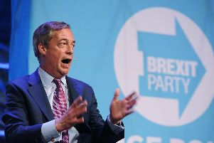 Brexit Party leader  Nigel Farage is open to a deal with the Tories