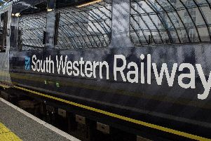 South Western Railway. Picture: Victoria Jones/ PA Wire