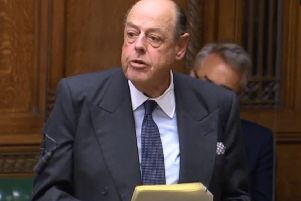 Sir Nicholas Soames, Mid Sussex MP, speaking in the Commons on Wednesday