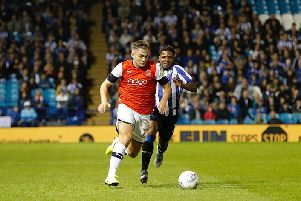Town's on-loan Manchester City youngster Luke Bolton