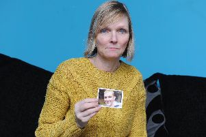 15/3/19    ''STORY: Hilary Mills' son Ben died of drugs (went into cardiac arrest week before Mutiny last year)  and he was a recovering addict.''Pictured:   Hilary Mills with a picture of her son, Ben Mills''Picture: Habibur Rahman