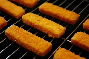 Empty packets of fish fingers have been found in the Newmans' freezer...but who is to blame?